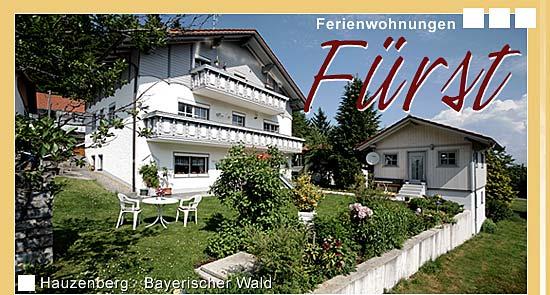 Ferienwohnunen Fürst in Hauzenberg Bayerischer Wald